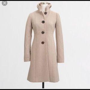 J Crew factory uptown dress coat B4106